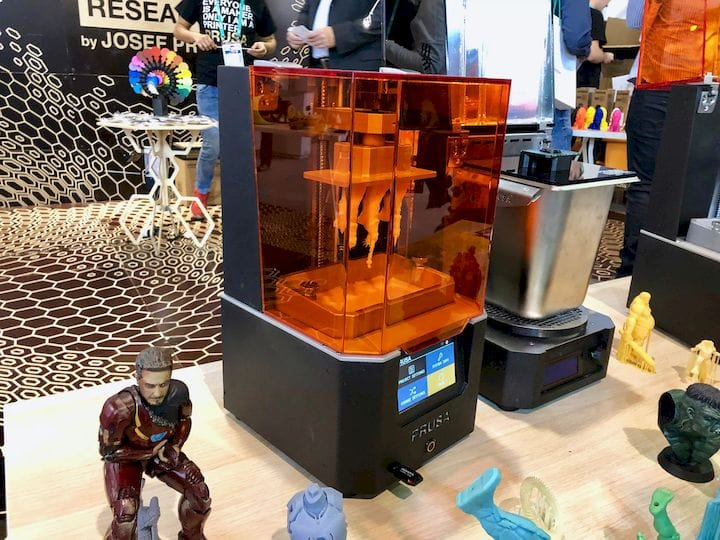 The upcoming Prusa SL1 resin 3D printer [Source: Fabbaloo]