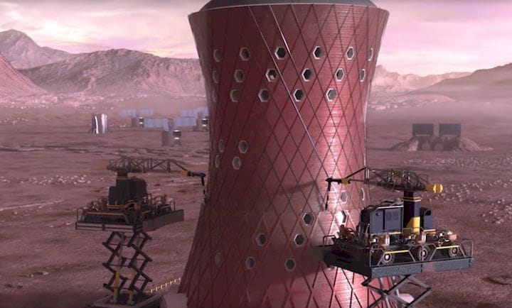 NASA Announces Finalists for 3D Printed Mars Habitat