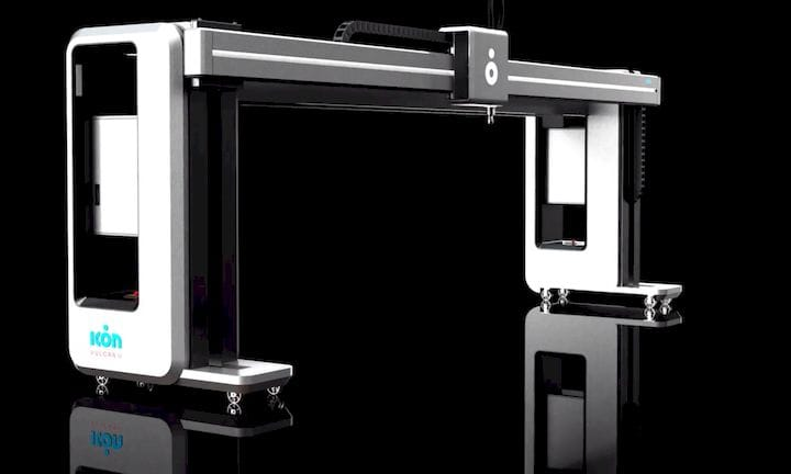 The Vulcan II construction 3D printer [Source: ICON]