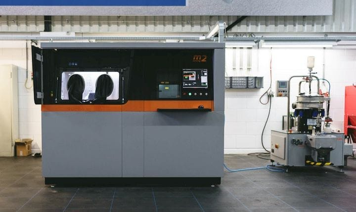 Manufacturing equipment [Source: 3D Hubs]