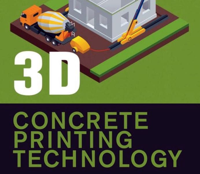 , Book of the Week: 3D Concrete Printing Technology