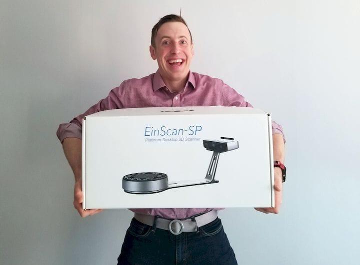 Einscan-SP 3D Scanner [Review]