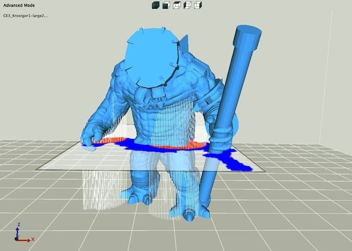 Generating and editing support structures using 3DWOX Desktop [Source: Fabbaloo]