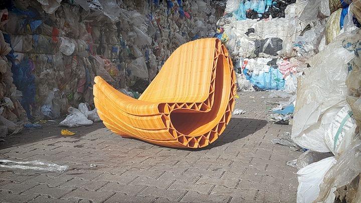 3D printed furniture [Source: SolidSmack]