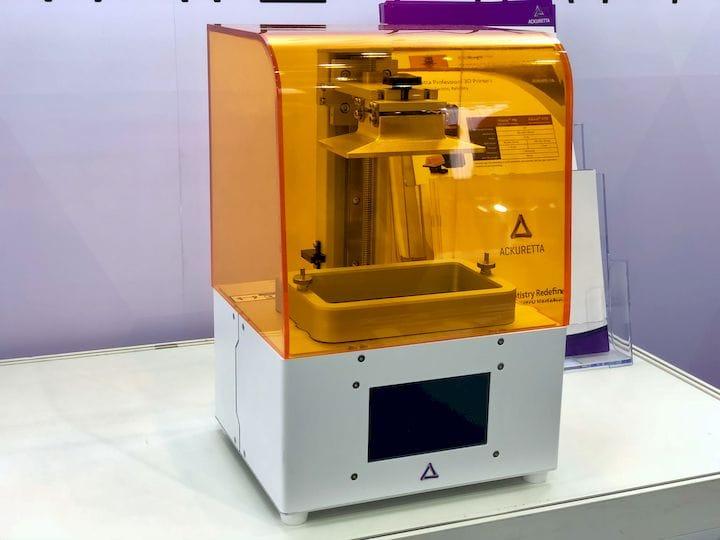 Ackuretta's New FreeShape 120 3D Printer