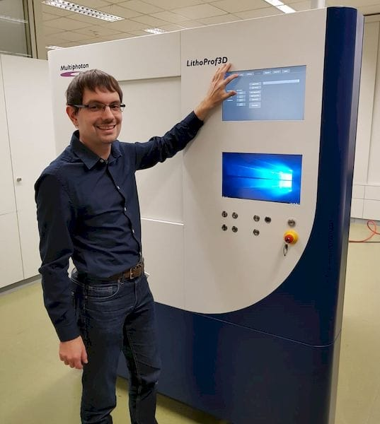 , Multiphoton Optics Produces Modular High-Precision 3D Printer