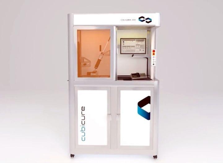 Cubicure's Unusual Hot Film 3D Printing Concept