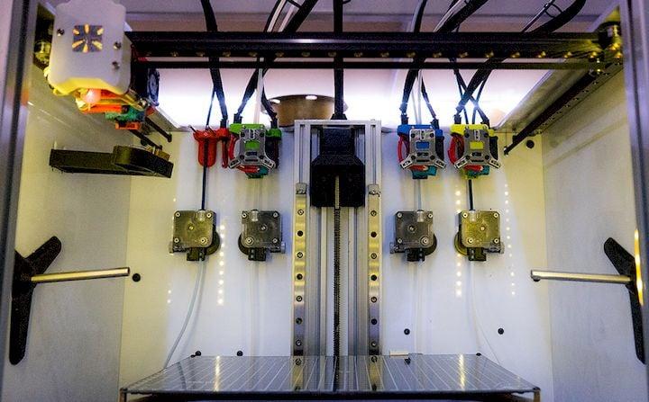 E3D-Online Making Progress On Their Tool-Changing 3D Printer Design