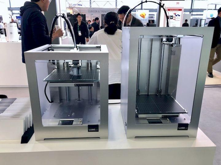 Lugo Labs desktop 3D printers [Source: Fabbaloo]