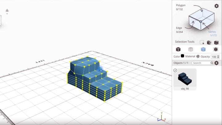 , How To Create Unique Low-Poly Designs Using SelfCAD