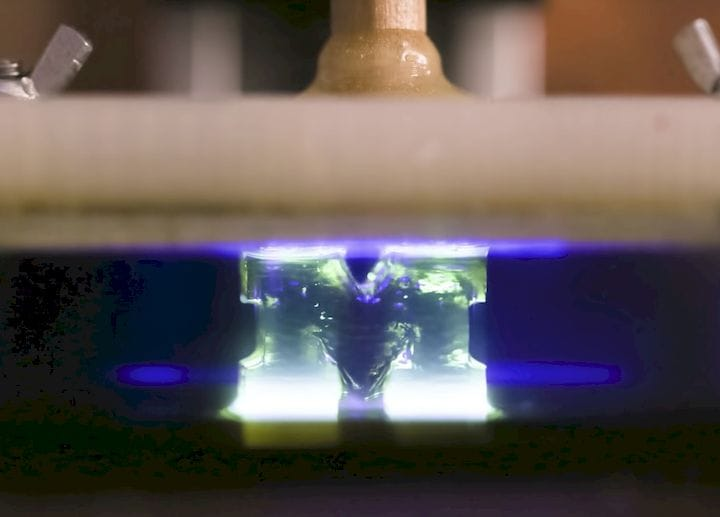 , 100X Faster 3D Printing Concept Opens Door To Harder Resin Prints