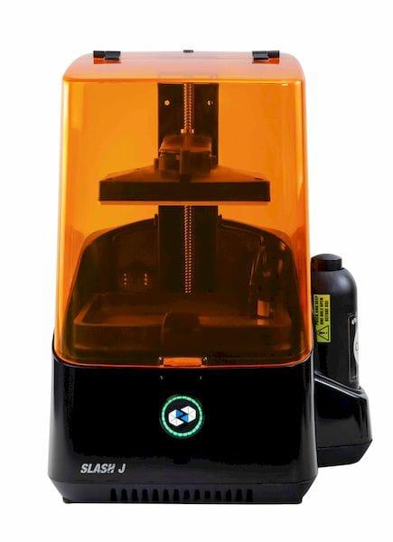 The new Slash 2J high speed, high resolution resin 3D printer [Source: Uniz]