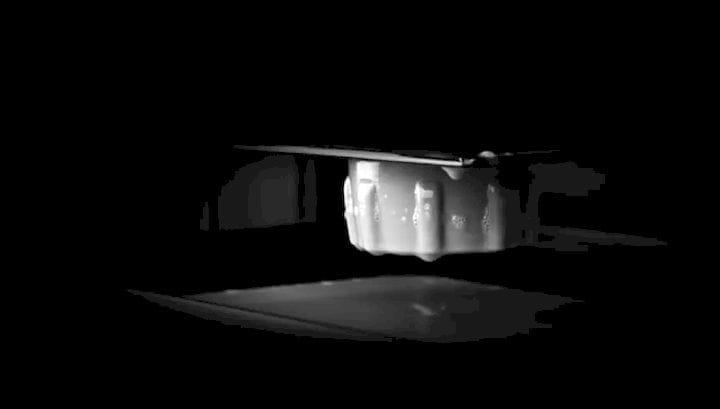 A sneak peek of Origin's unique 3D printing process. (Image courtesy of Origin.)