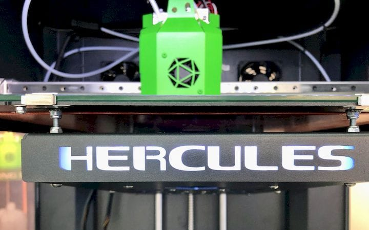 The Imprinta Hercules Strong 3D printer [Source: Fabbaloo]