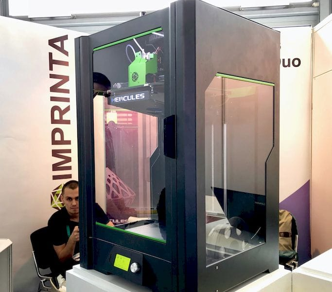 The Hercules Strong professional 3D printer [Source: Fabbaloo]