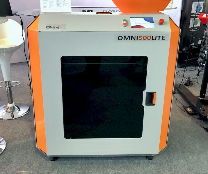 The upcoming Omni3D Lite industrial 3D printer [Source: Fabbaloo]