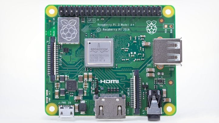 The Raspberry Pi 3 Model A+ Is a Cheaper, Physically Smaller Version of the Pi 3B+