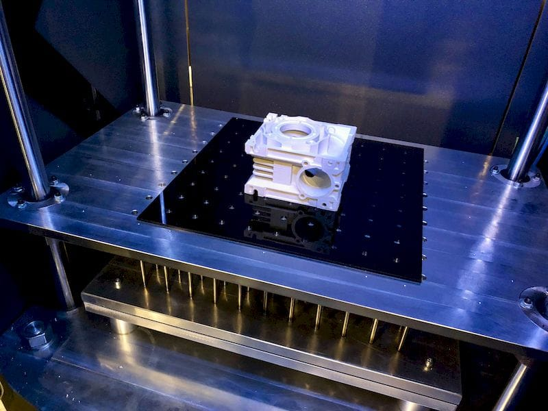 Loop3D's continuous build 3D printer [Source: Fabbaloo]