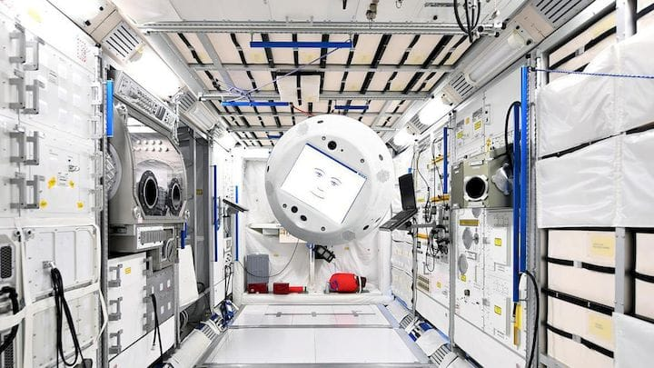 Cimon Is a 3D Printed Robot for Aiding Lonely Astronauts in Space