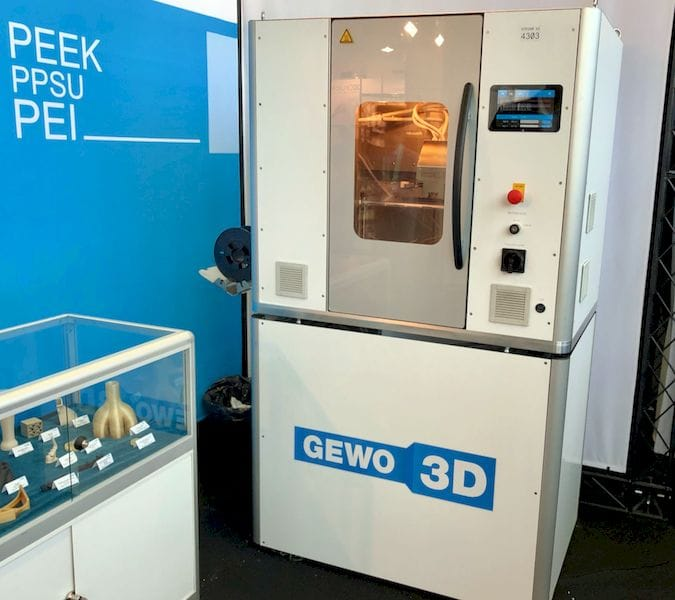 Incredible High Temperatures In The GEWO 3D HTP 260