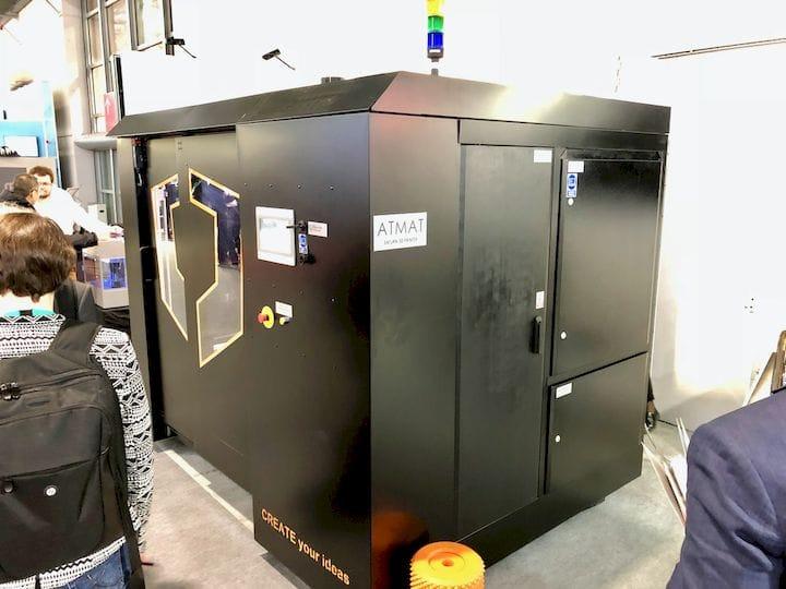 The ATMAT Saturn large-format 3D printer [Source: Fabbaloo]