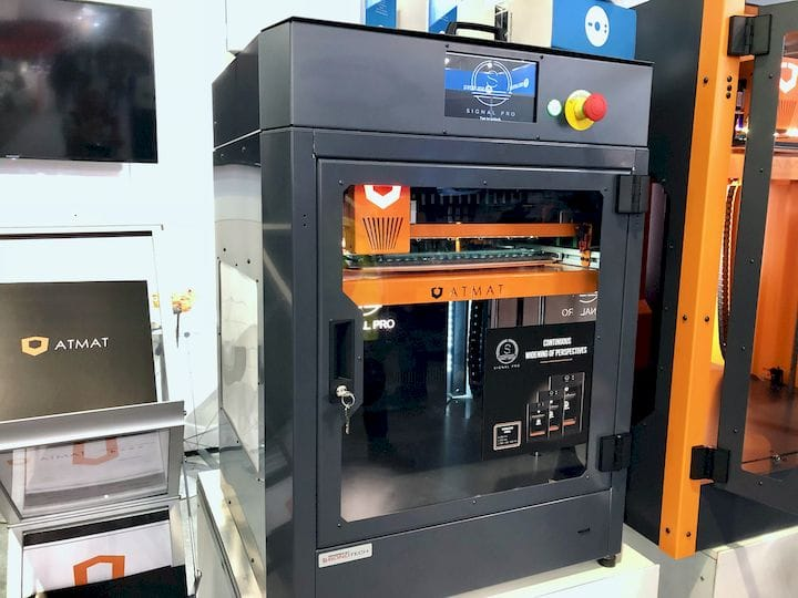 , The ATMAT Saturn Large-Format 3D Printer