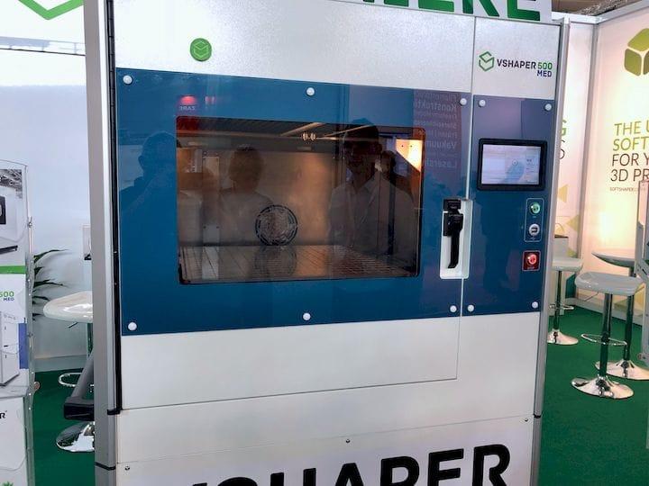 VSHAPER's Unusual Medical 3D Printer
