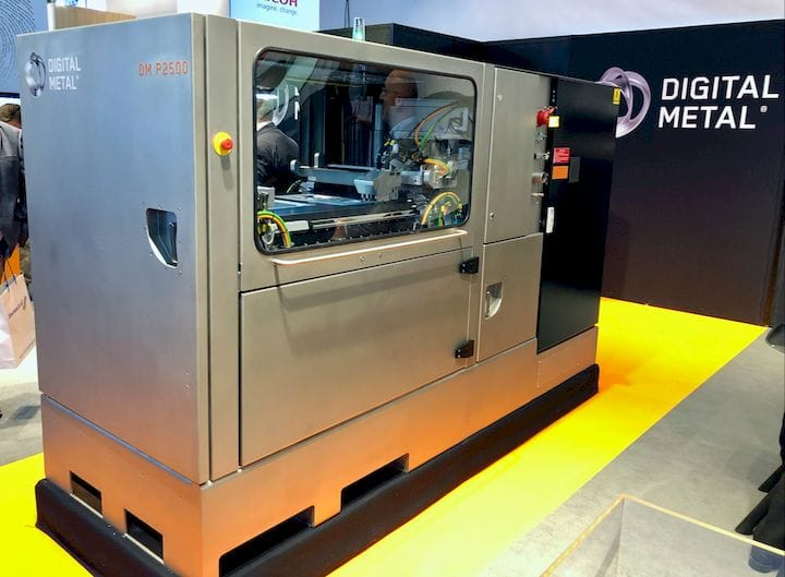 Digital Metal's DM P2500 metal 3D printer [Source: Fabbaloo]