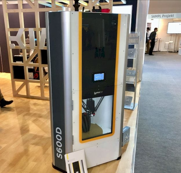 The Lynxter high-temperature 3D printer [Source: Fabbaloo]