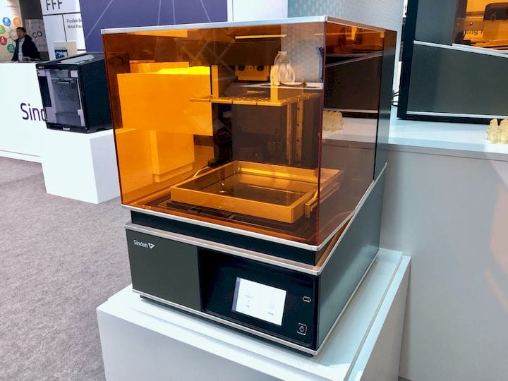 The new Sindoh A1 resin-based 3D printer [Source: Fabbaloo]