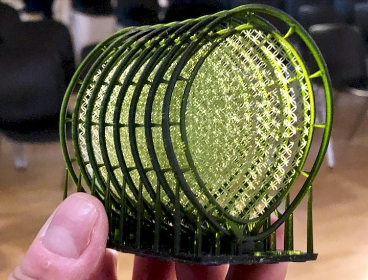 Very delicate 3D prints are possible on the Sisma Everes equipment [Source: Fabbaloo]