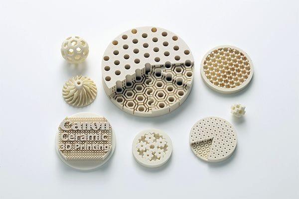 Canon Announces Ceramic 3D Printing Materials