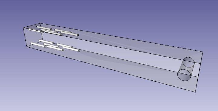 Manual void reinforcements in a 3D printed part [Source: RepRap]