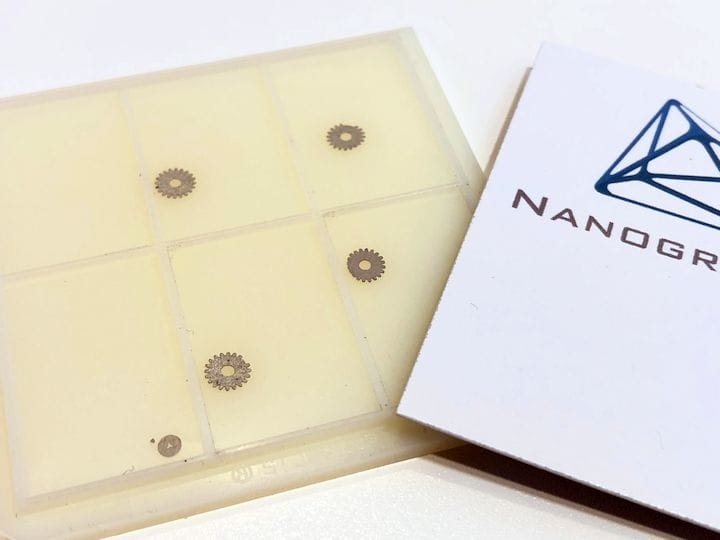 Nanogrande's Molecular 3D Printing Concept
