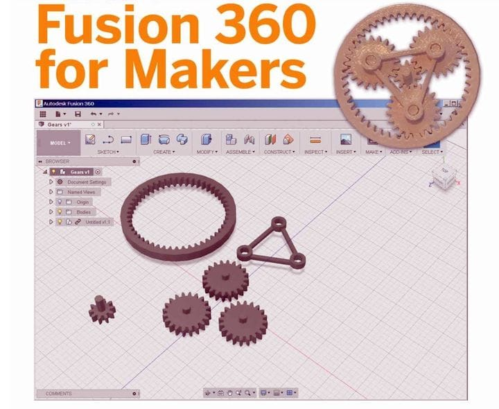 Book of the Week: Fusion 360 for Makers