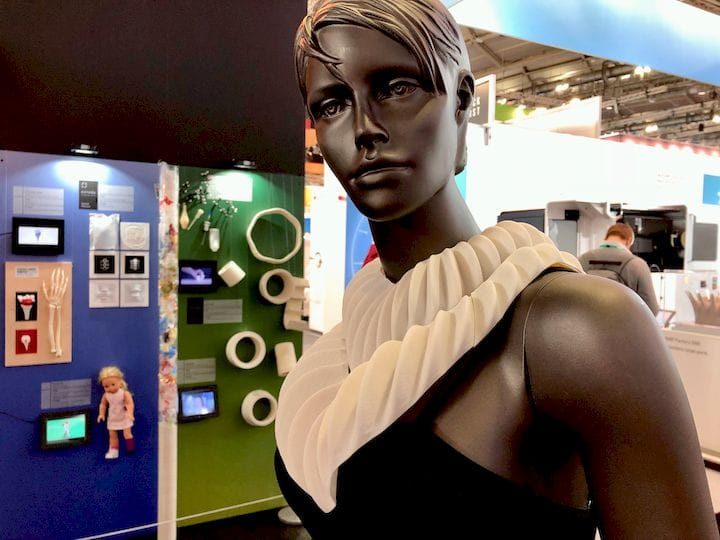 The 3D printed visual prototype of AMPHIBIO [Source: Fabbaloo]