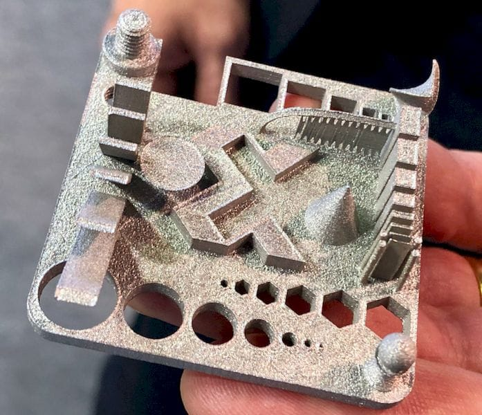 A finely detailed metal 3D print from Xact Metal [Source: Fabbaloo]