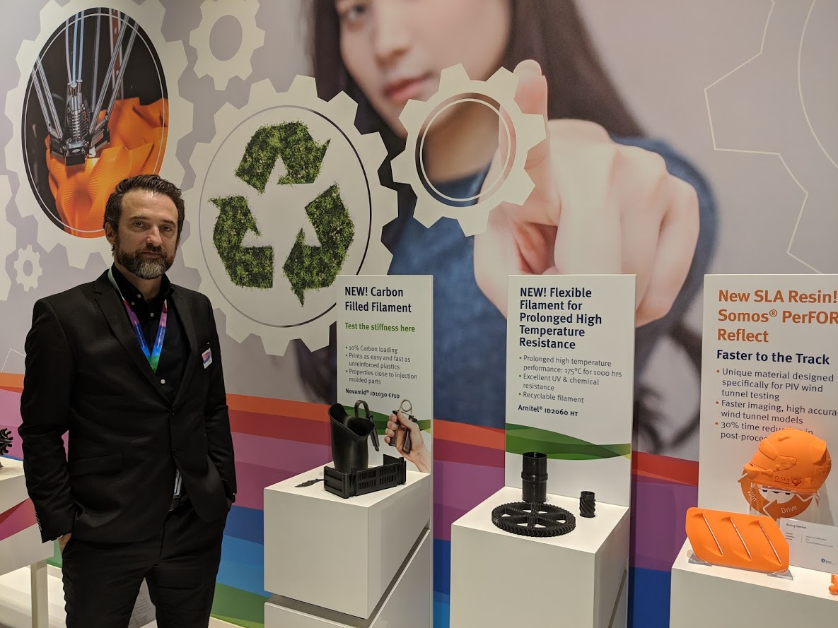 , DSM Adds Umbrella of Sustainability to Additive Manufacturing