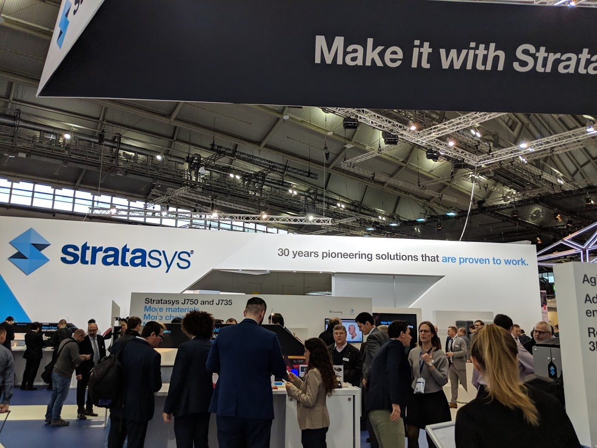 Stratasys Answers and Raises Questions