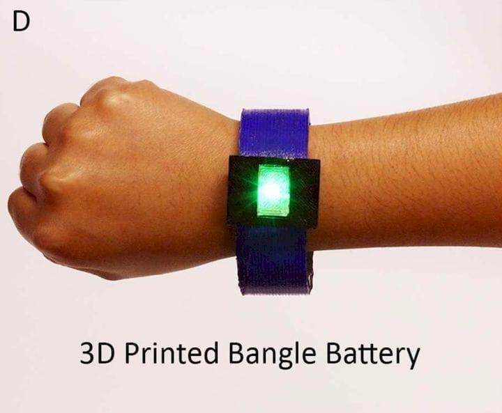 Progress in 3D Printed Batteries