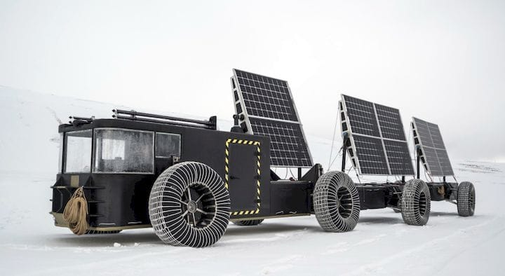 To Antarctica In A 3D Printed Solar Rover!