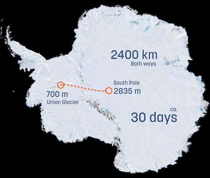 , To Antarctica In A 3D Printed Solar Rover!