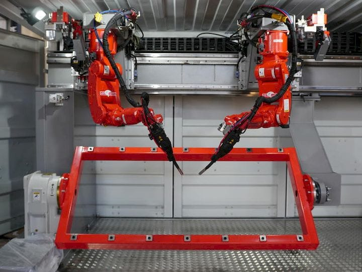 The 3D printing construction robot from Autodesk? [Source: ZDNet]