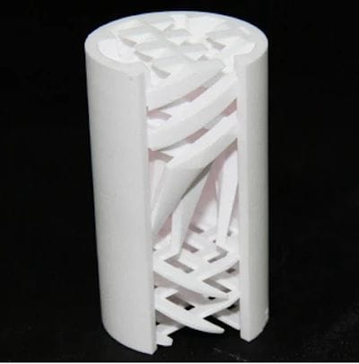 A ceramic 3D print with very complex geometry [Source: Creatz3D]