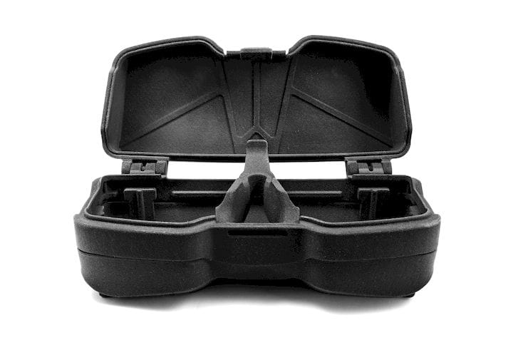 A combat eyewear case 3D printed in a new PA11 material [Source: Sinterit]