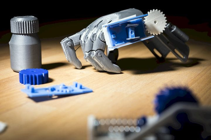 3D printed mechanical objects that can be electronically monitored [Source: University of Washington]