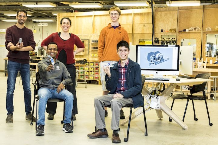 Research team at the University of Washington developing remotely monitorable 3D prints [Source: University of Washington]