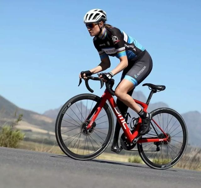 Power Without Pain. Prosthetic Fit Critical to Cycling Championship