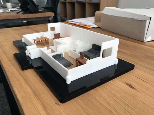 Sculpteo Now 3D Printing Apartments