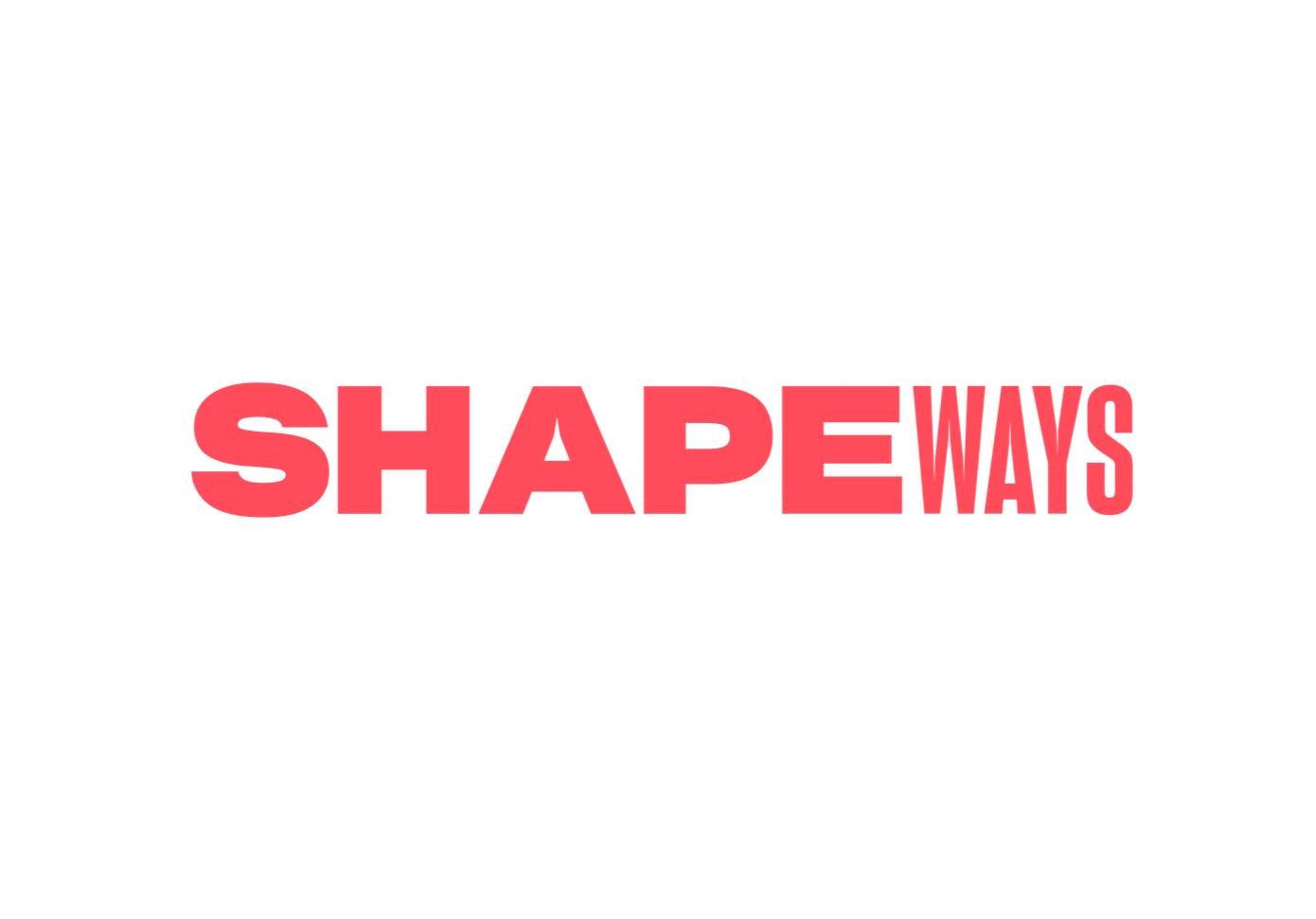 Shapeways tweaks their pricing [Source: Shapeways]